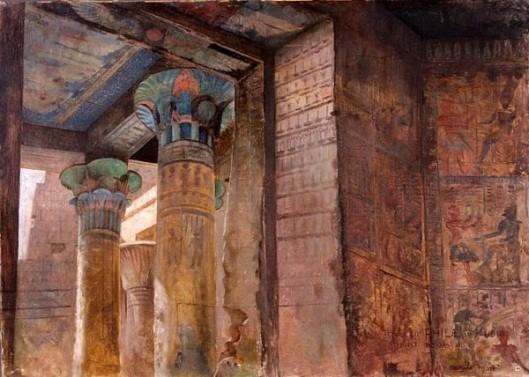 Temple Of Philae In Nubia