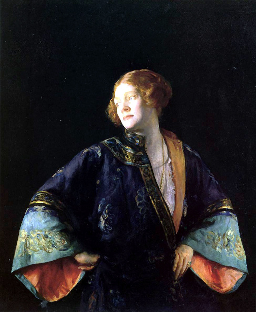 The Blue Mandarin Coat - The Blue Kimono