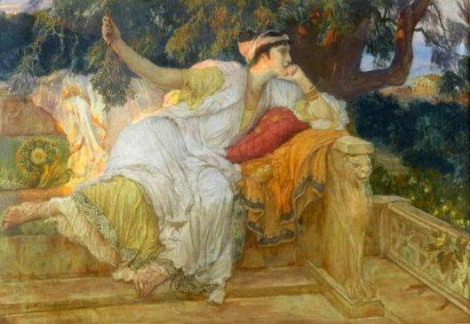 A Grecian Lady