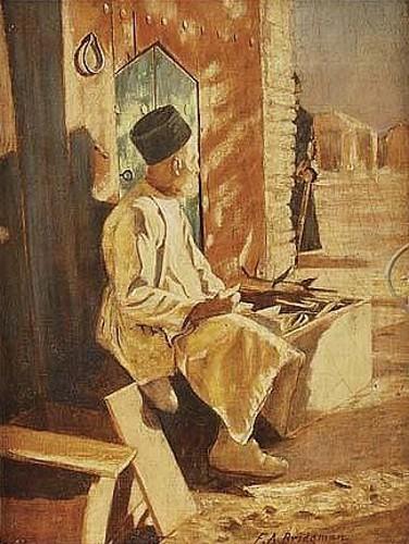 A Persian Cobbler In Askabad