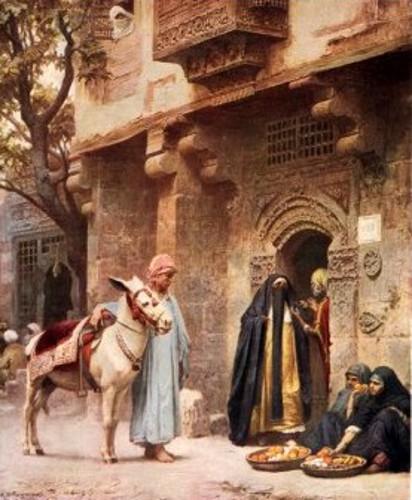 A Scene In Cairo