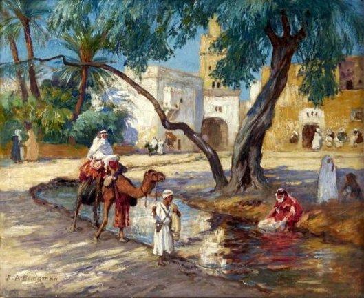 A View Of An Algerian Village