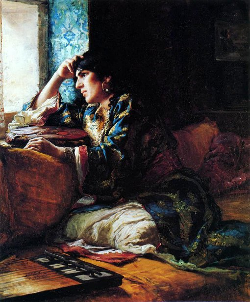 Aicha, A Woman Of Morocco
