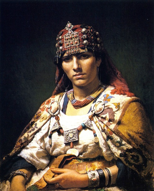 Aicha, Woman Of The Kabylia Mountains
