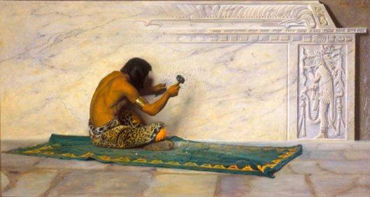 An Aztec Sculptor