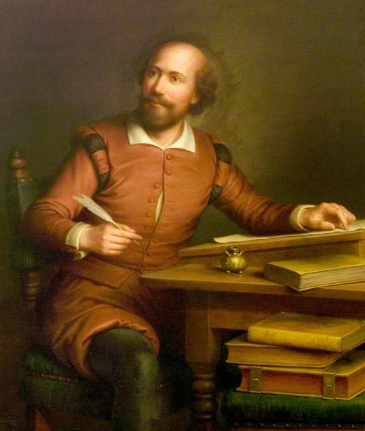 An Ideal Portrait Of William Shakespeare