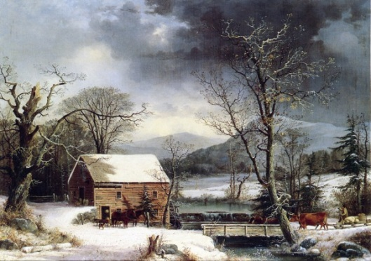 At The Mill, Winter