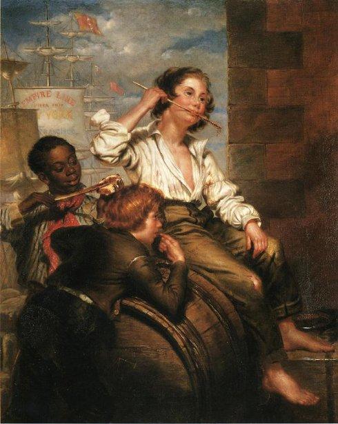 Boys Pilfering Molasses