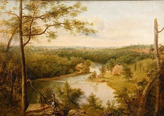 Brandywine River, View Of The Schuylkill