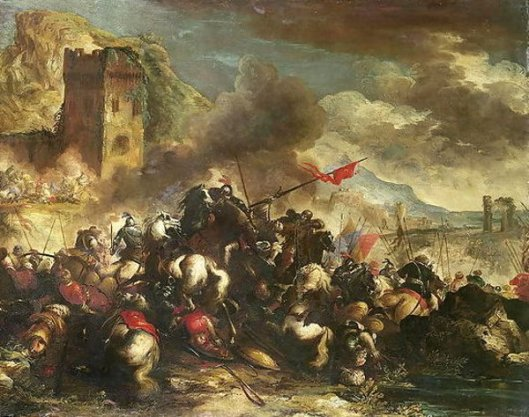 Cavalry Skirmishes Between Crusaders And Turks