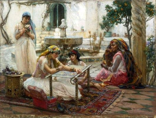 In A Country Villa, Algiers