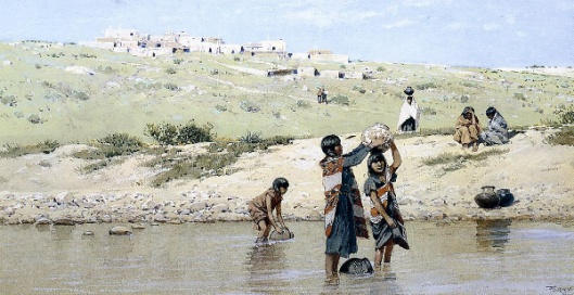 Drawing Water - The Water Carriers