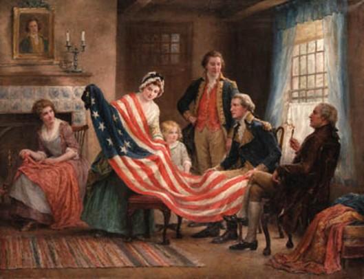 Examining The Flag