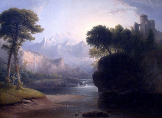 Fanciful Landscape