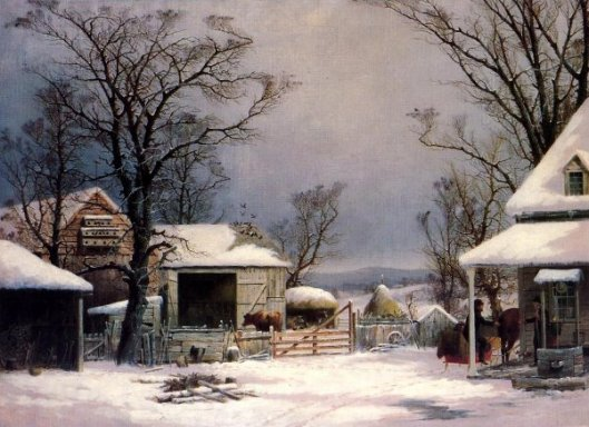 Farmyard, Winter