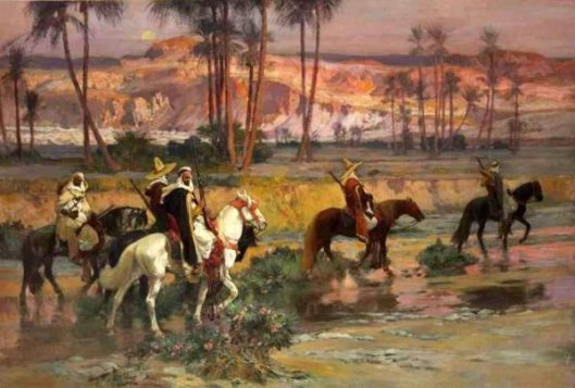Fording The Stream, Algeria