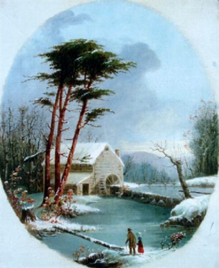 Grist Mill, Winter