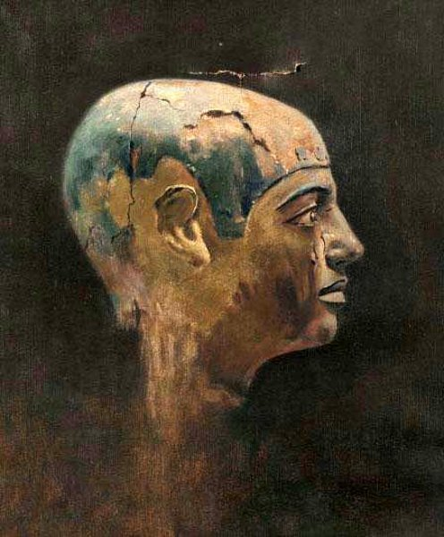 Head Of A Man Of The 5th Dynasty