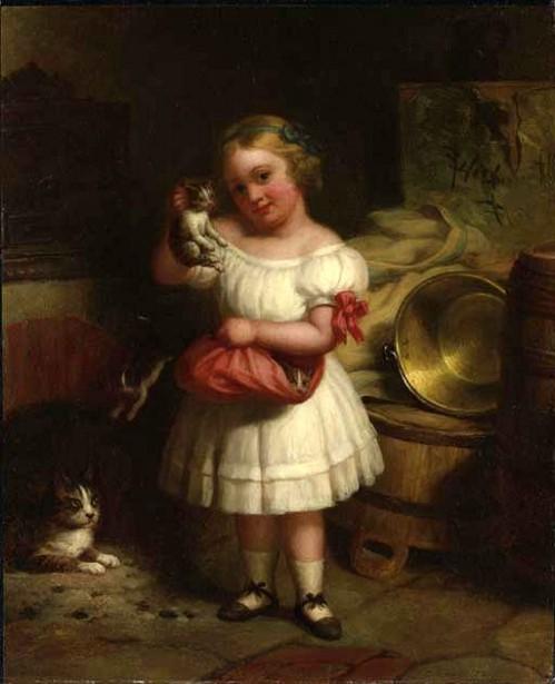 Her Favorite Kitten