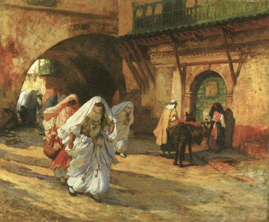 In The Souk - Women Of Algiers