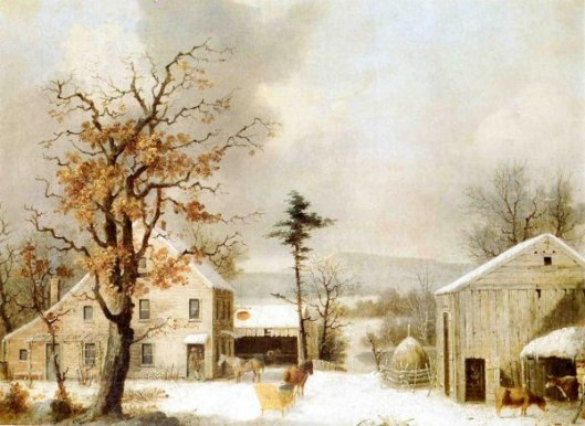 Jones Inn, Winter