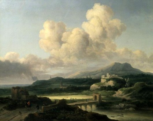 Landscape After Ruisdael