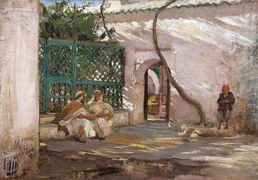 The Patio, Algiers