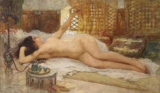 Nude At The Tableside