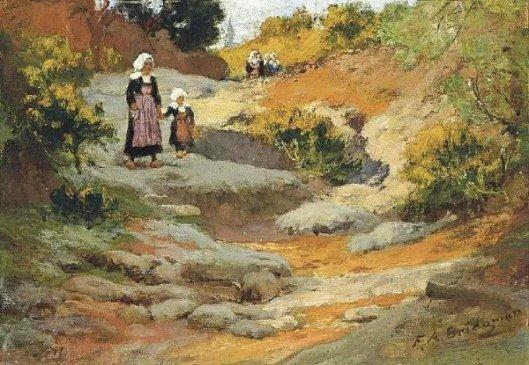 Pont-Aven Landscape