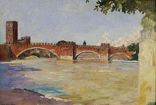 Ponte di Castelvecchio, Verona, Italy