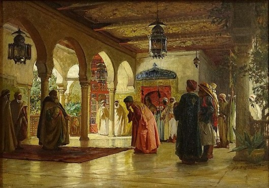 Reception Of An Ambassador - Palace Of Constantinople
