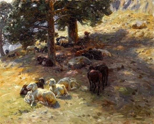 Resting Flock