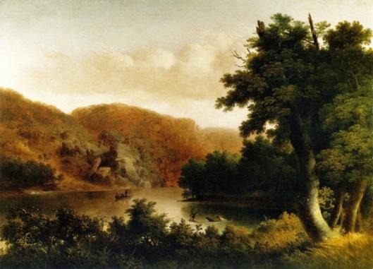 River Landscape - The Hunt