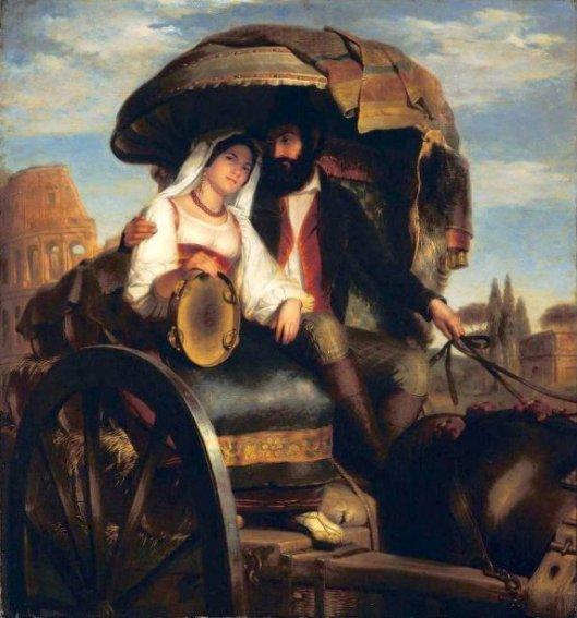 Roman Wine Cart