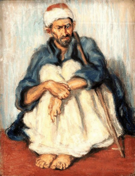 Seated Arab