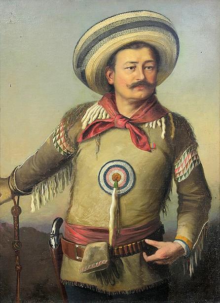 Self Portrait In Mexican Cowboy Attire