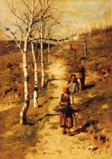 South Tyrolean Wood Gatherers