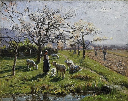 Spring In The Fields