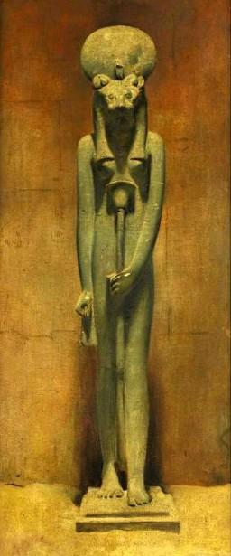 Standing Sekhmet, Karnak