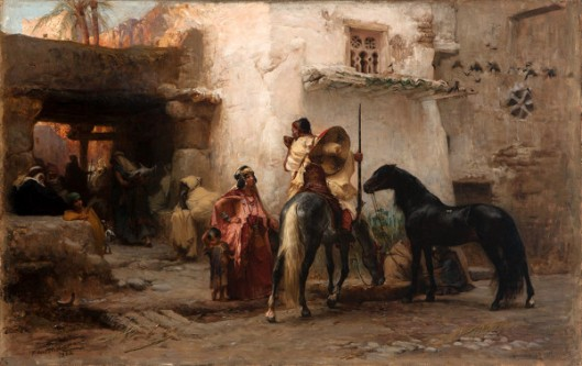 Street Scene, North Africa