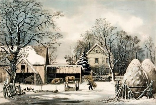 The Farmer's Home, Winter