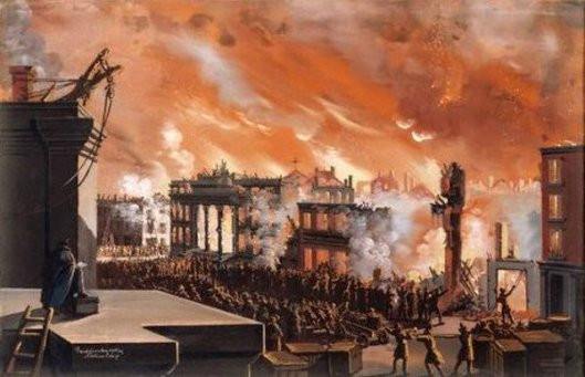 The Great Fire Of New York - Burning Of The Merchants' Exchange - December 17, 1835