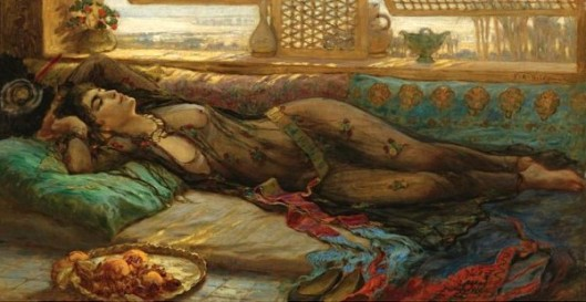 The Harem Beauty - Reclining Beauty