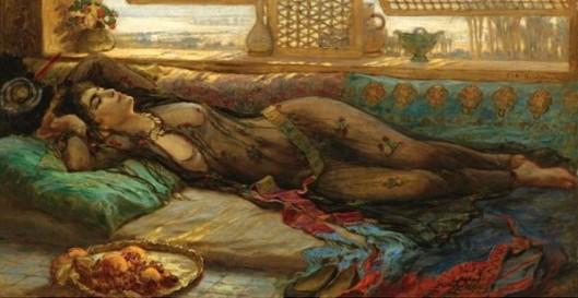 The Harem Beauty - Reclining Beauty