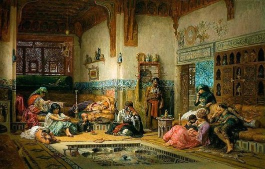 The Nubian Storyteller In The Harem