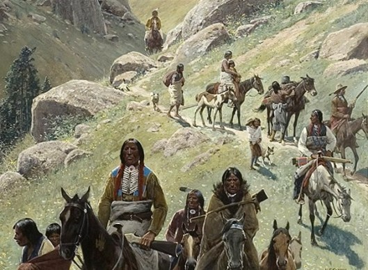 The Old Buffalo Trail