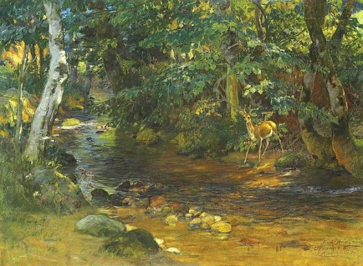 The Stream At Divonne