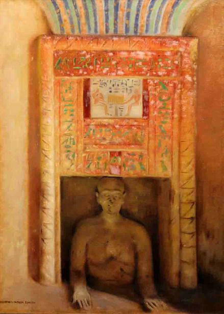 Tomb Of Idu At Giza