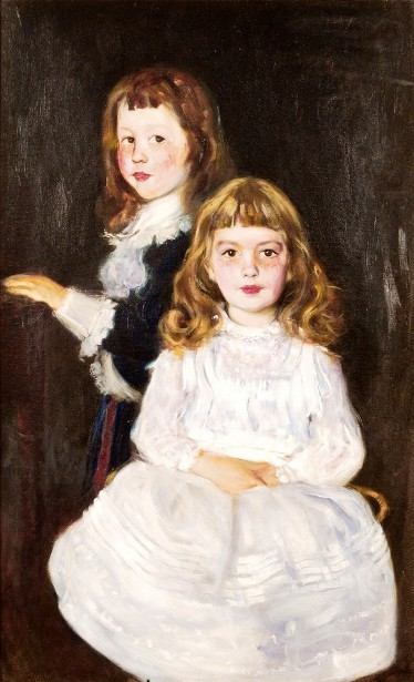 Twins Roger And Anna Griswold Fletcher