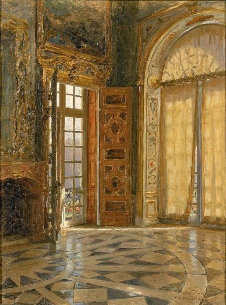 Vestibule Corner, Schleissheim, Prince Regent Luitpold's Palace